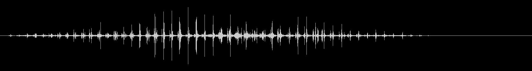 馬-カレラ-トロットの未再生の波形