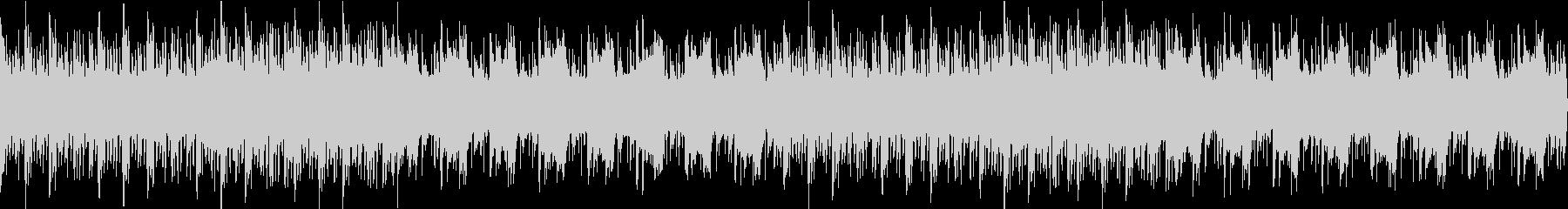 ピアノとシンセが目立つ儚いBGMの未再生の波形
