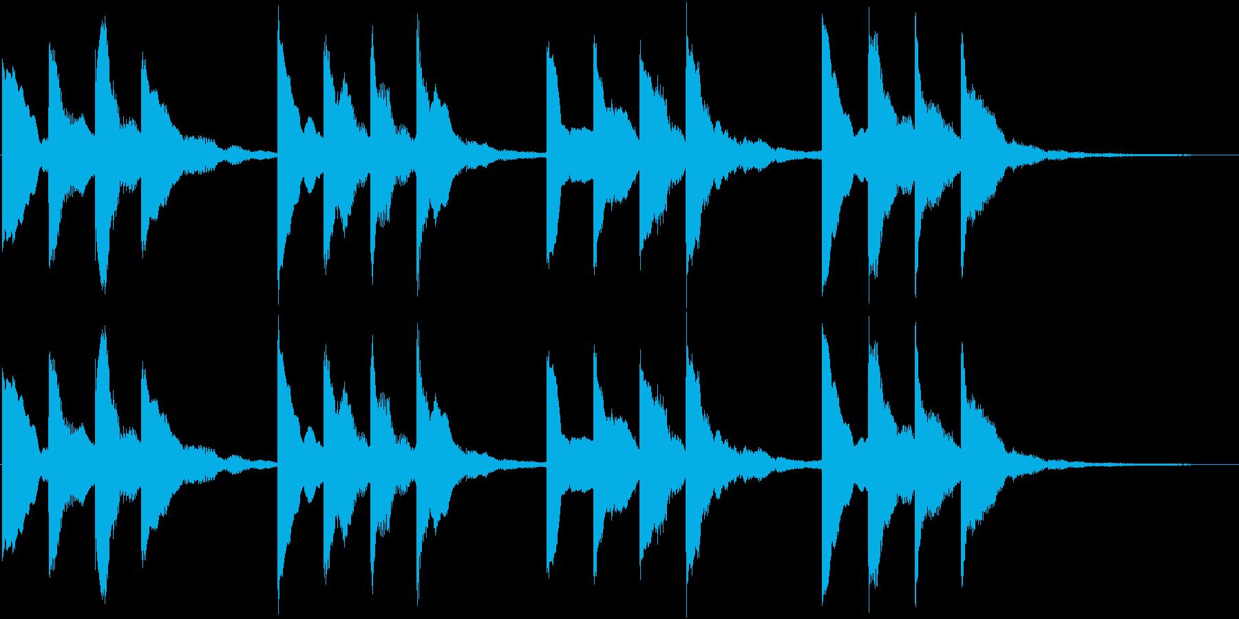 学校のチャイム(オルガンバージョン)の再生済みの波形