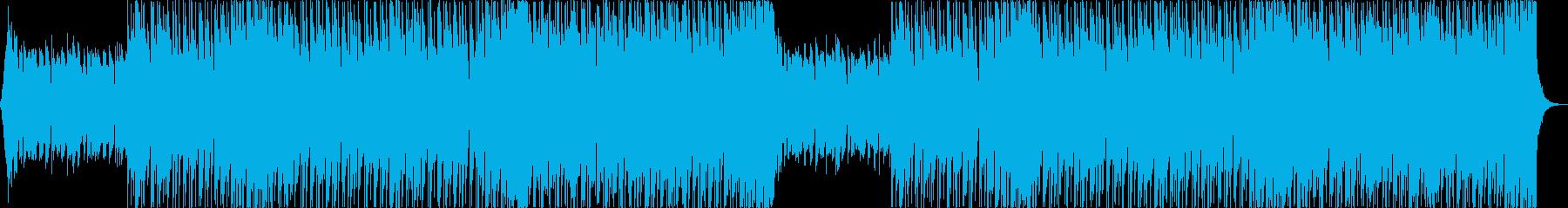 洋楽トラップヒップホップパリピEDMaの再生済みの波形
