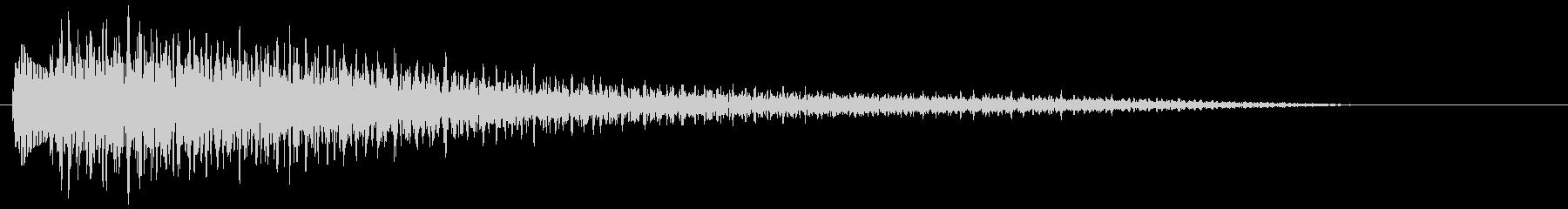 【ピアノ生演奏】心安らぐジングルの未再生の波形
