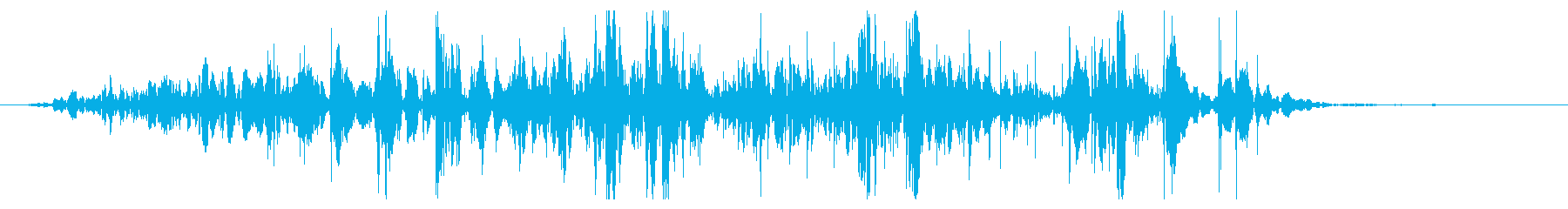 ミディアムロックスライドの再生済みの波形