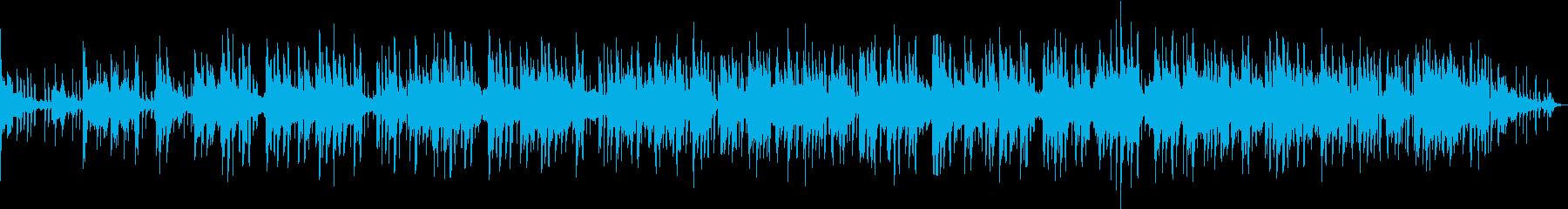 お洒落なクロスオーバーの再生済みの波形