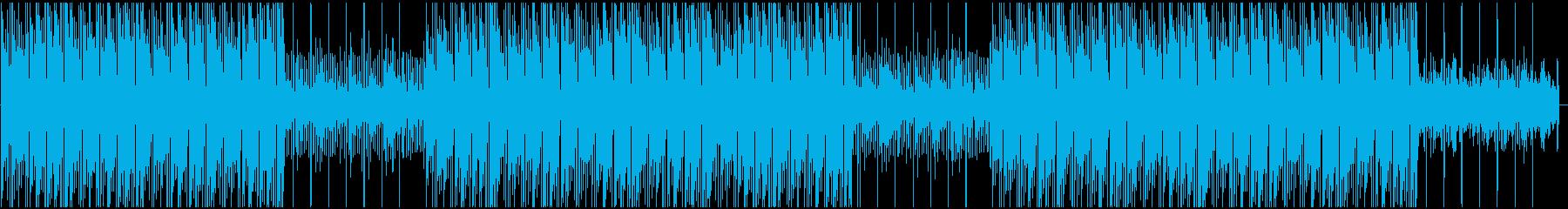 琴を使った夕焼けを感じる日本風ビートの再生済みの波形
