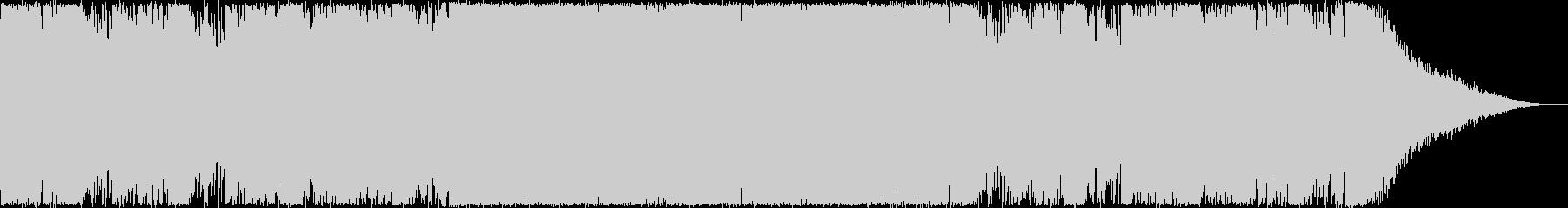 オープニング・おしゃれなトロピカルハウスの未再生の波形
