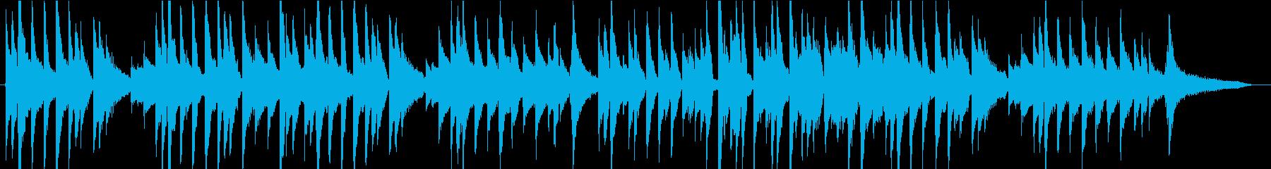 子守唄のような、ギター1本による生演奏の再生済みの波形