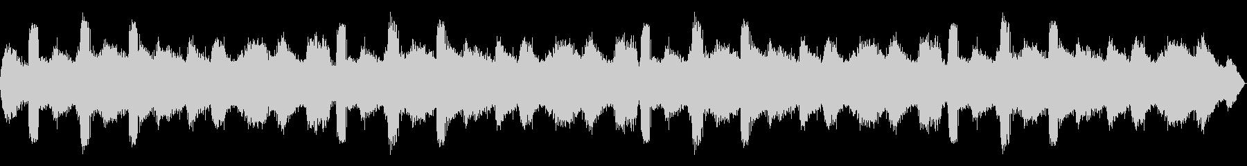 [バイノーラル録音]ヒグラシの鳴く森02の未再生の波形