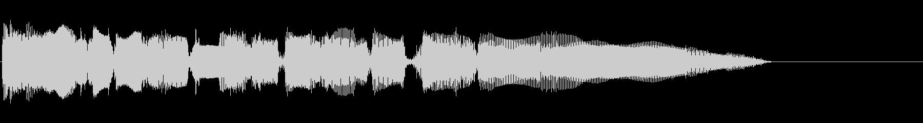 生演奏のエレキギターのリフ。の未再生の波形