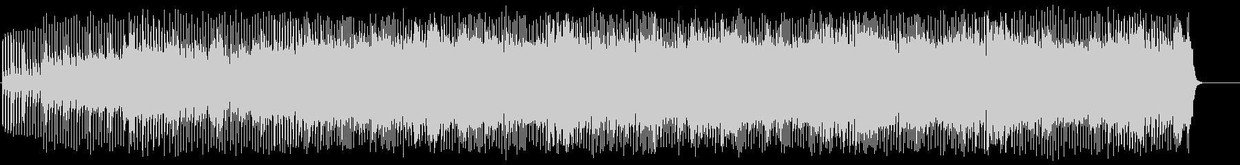 オープニング向けハードロックの未再生の波形