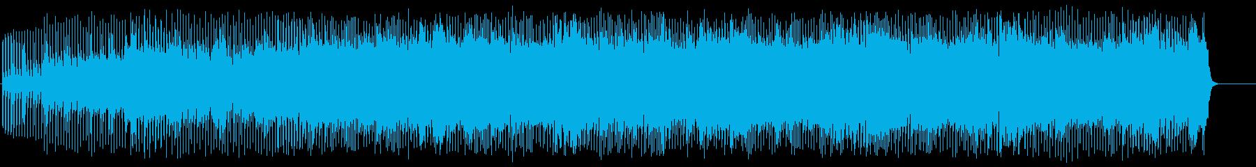 オープニング向けハードロックの再生済みの波形
