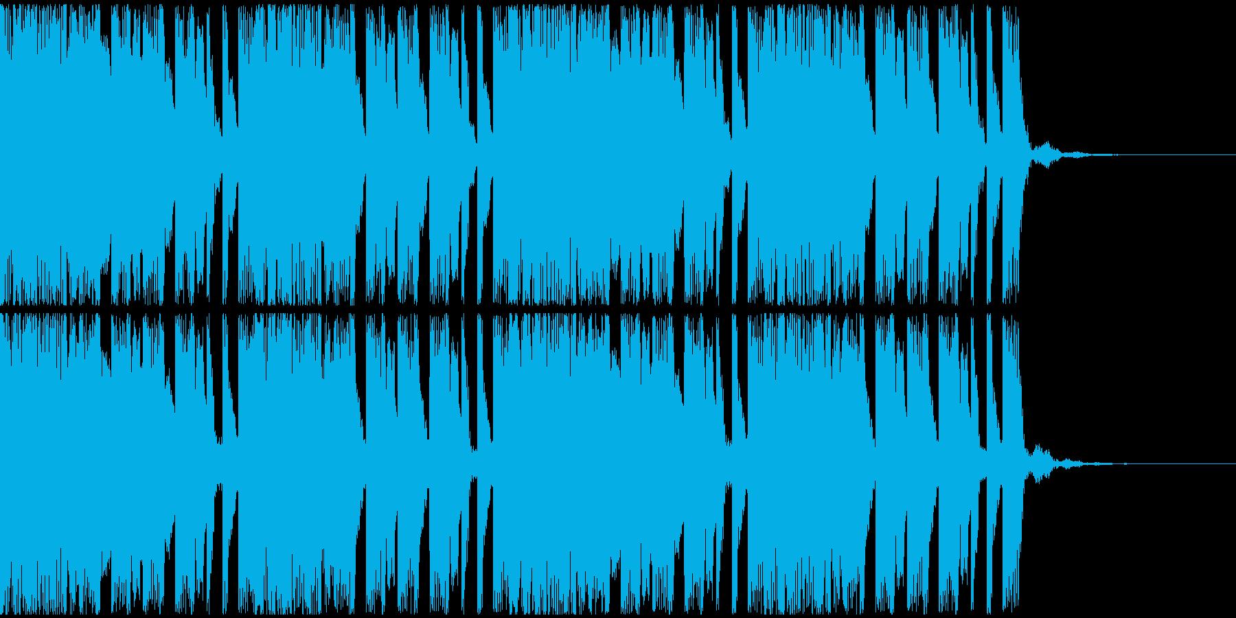 【EDM】トランス、ロング8、ジングル1の再生済みの波形