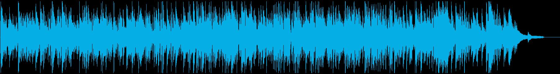 スタイリッシュ系ボサノバ、お洒落、上品の再生済みの波形