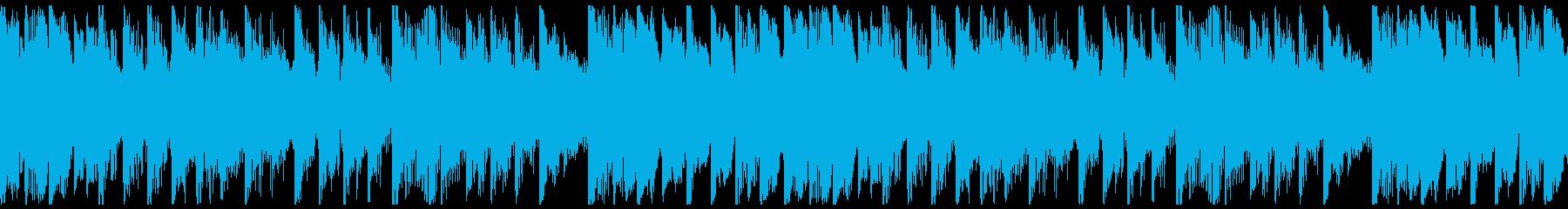 会社の事業プレゼン用トラック-ループの再生済みの波形