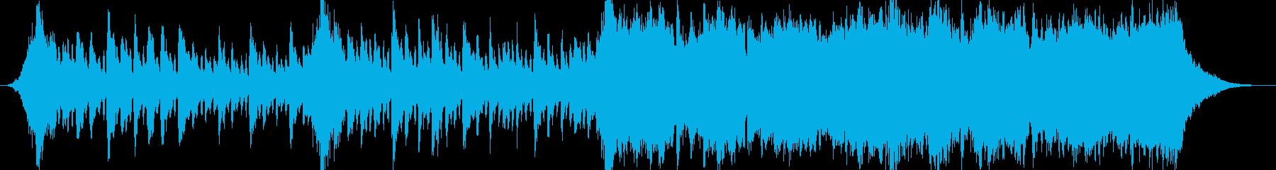 企業VPや映像40、壮大、オーケストラbの再生済みの波形