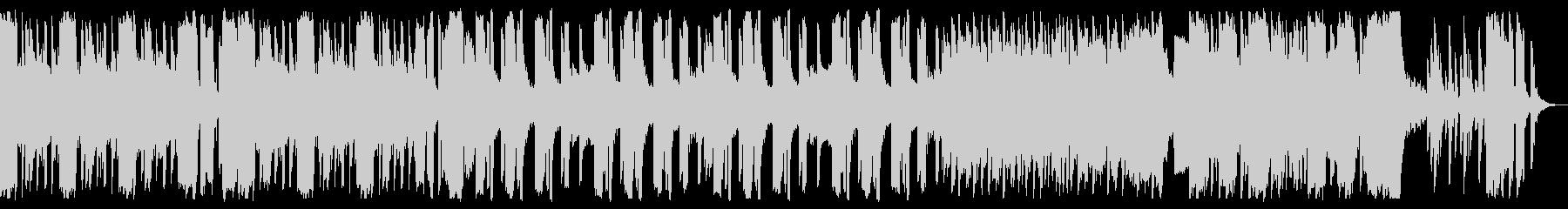 ミドルテンポで暗いハロウィン曲の未再生の波形