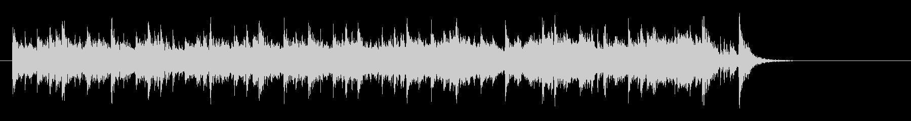 素朴なフォークポップス(イントロ~サビ)の未再生の波形