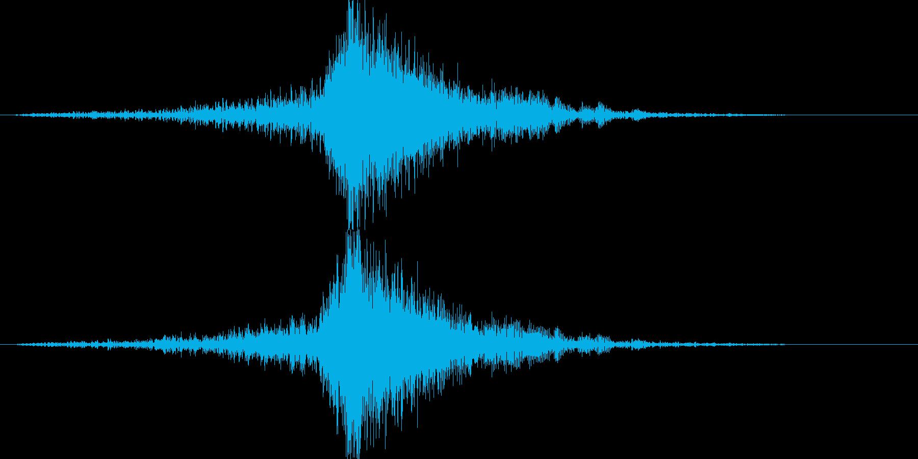 映画告知音148 ドーンの再生済みの波形