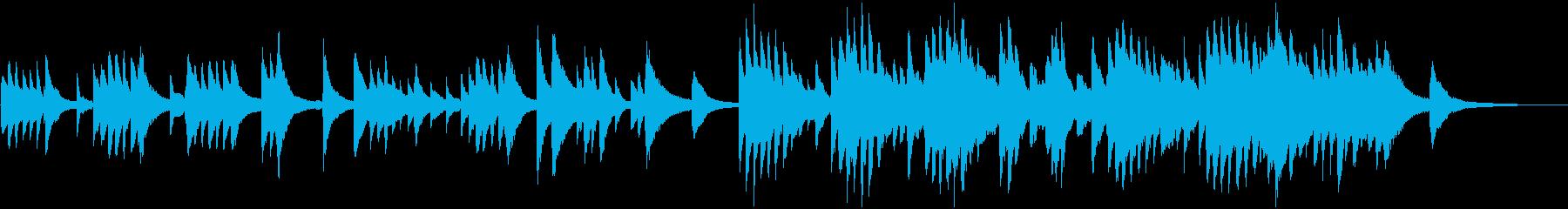 アンニュイで物憂げなピアノソロの再生済みの波形