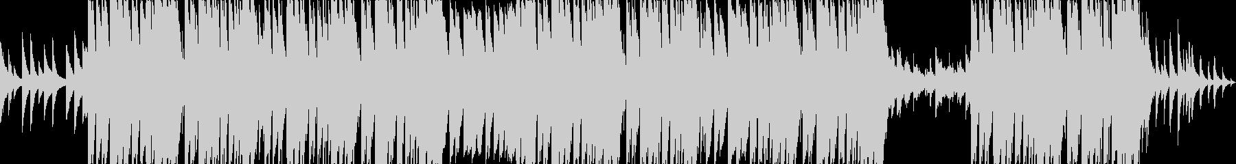 切ないエモーショナルピアノトラップの未再生の波形