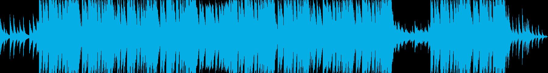 切ないエモーショナルピアノトラップの再生済みの波形