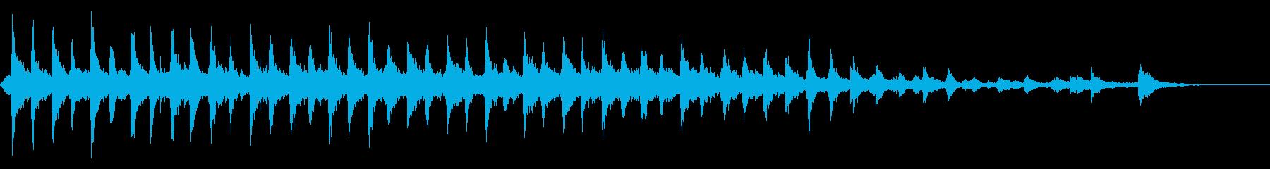 一定のリンギング、速いベルの再生済みの波形