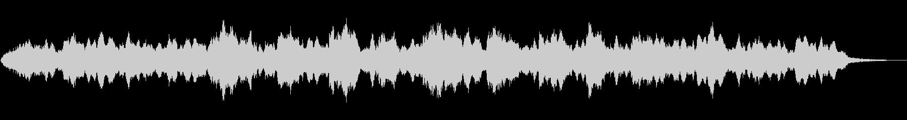 インドの笛シャナイによる神秘的な音風景の未再生の波形