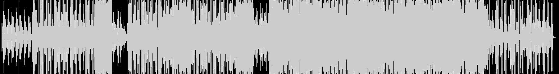 オーケストラと8bitが可愛い曲の未再生の波形