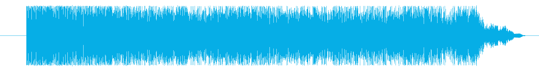 ゲーム 激しいハード03の再生済みの波形