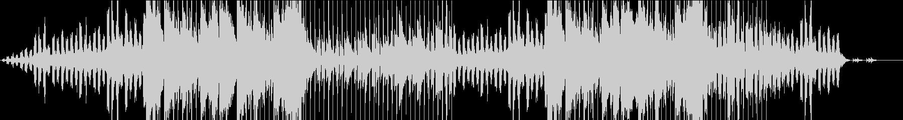 ゆったりとした雰囲気のピアノバラードの未再生の波形