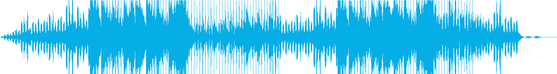 ゆったりとした雰囲気のピアノバラードの再生済みの波形