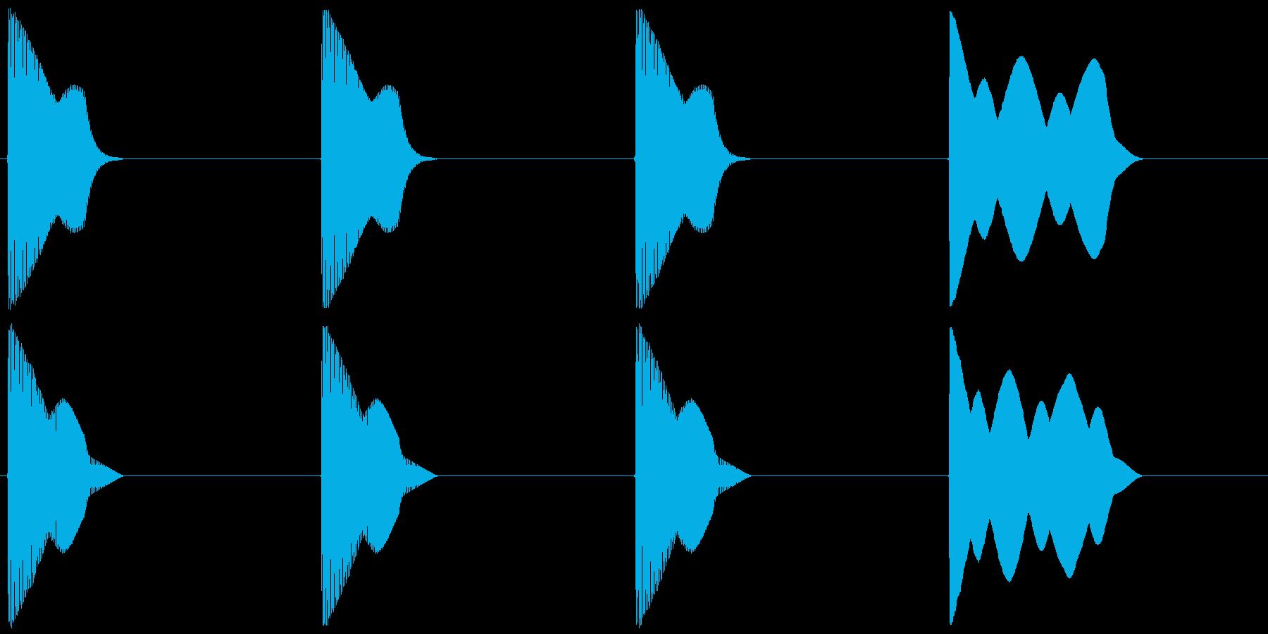 レース スタート合図音 近代Verの再生済みの波形
