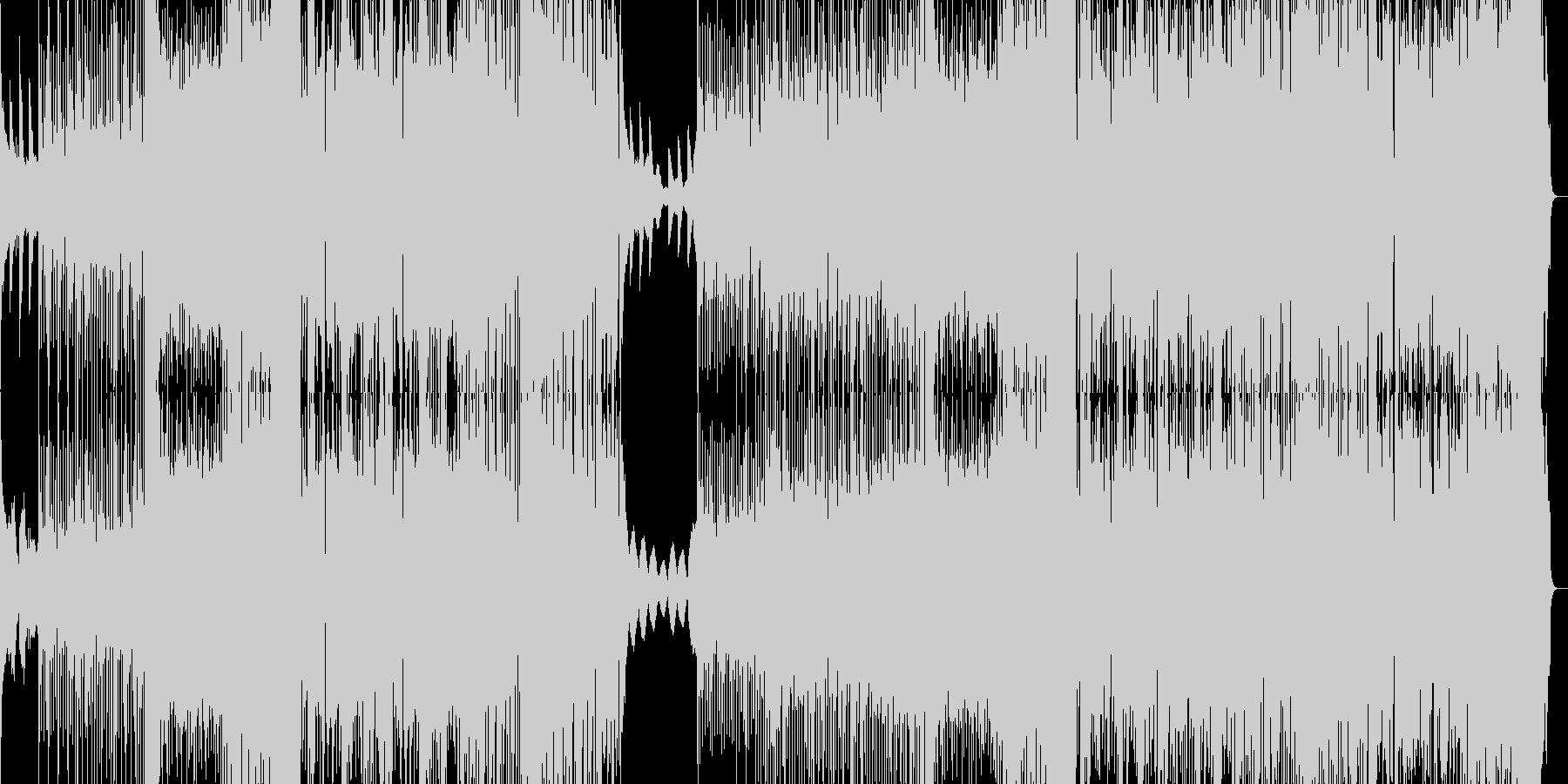 キラキラした感じのフューチャーベースの未再生の波形