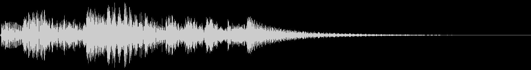 テレレレレン↑ 琴 上昇の未再生の波形