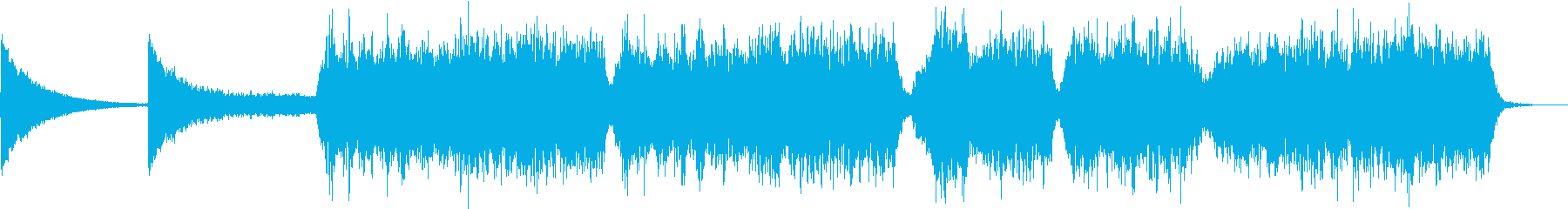 絶望的な合唱の再生済みの波形