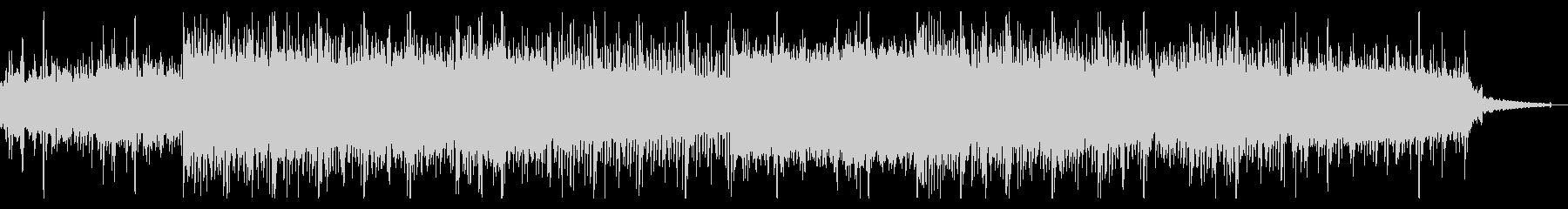 ホラーなインダストリアルIDMの未再生の波形