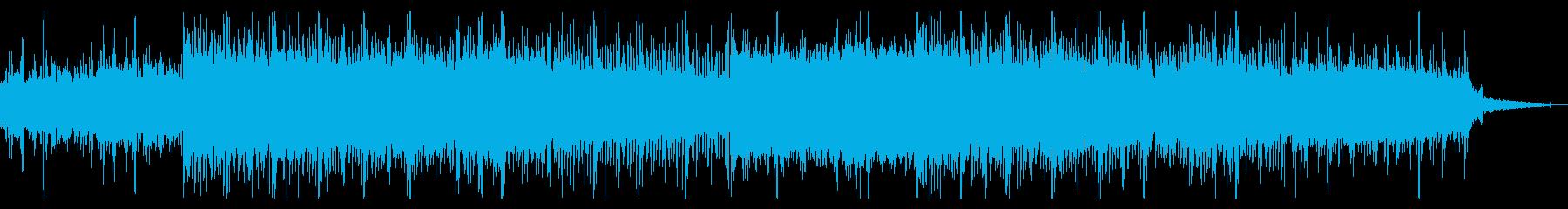 ホラーなインダストリアルIDMの再生済みの波形