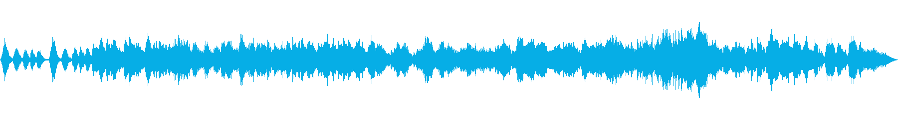 生演奏クラシック、モーツァルト、優雅の再生済みの波形