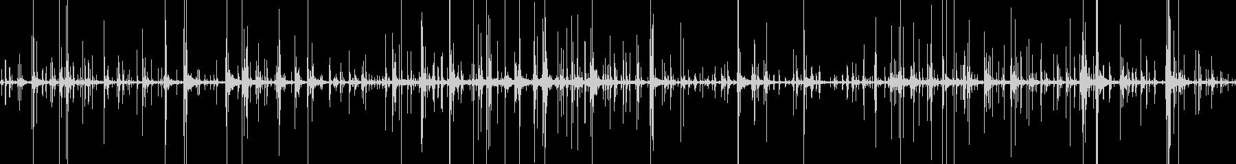 カランコロン… 風 静けさ 不規則の未再生の波形