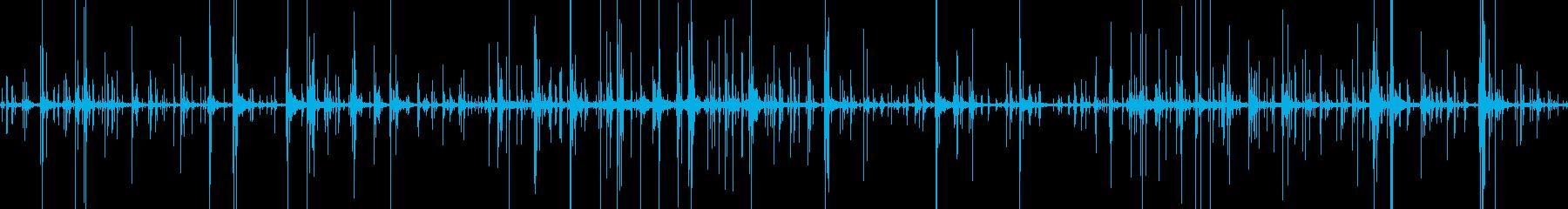 カランコロン… 風 静けさ 不規則の再生済みの波形