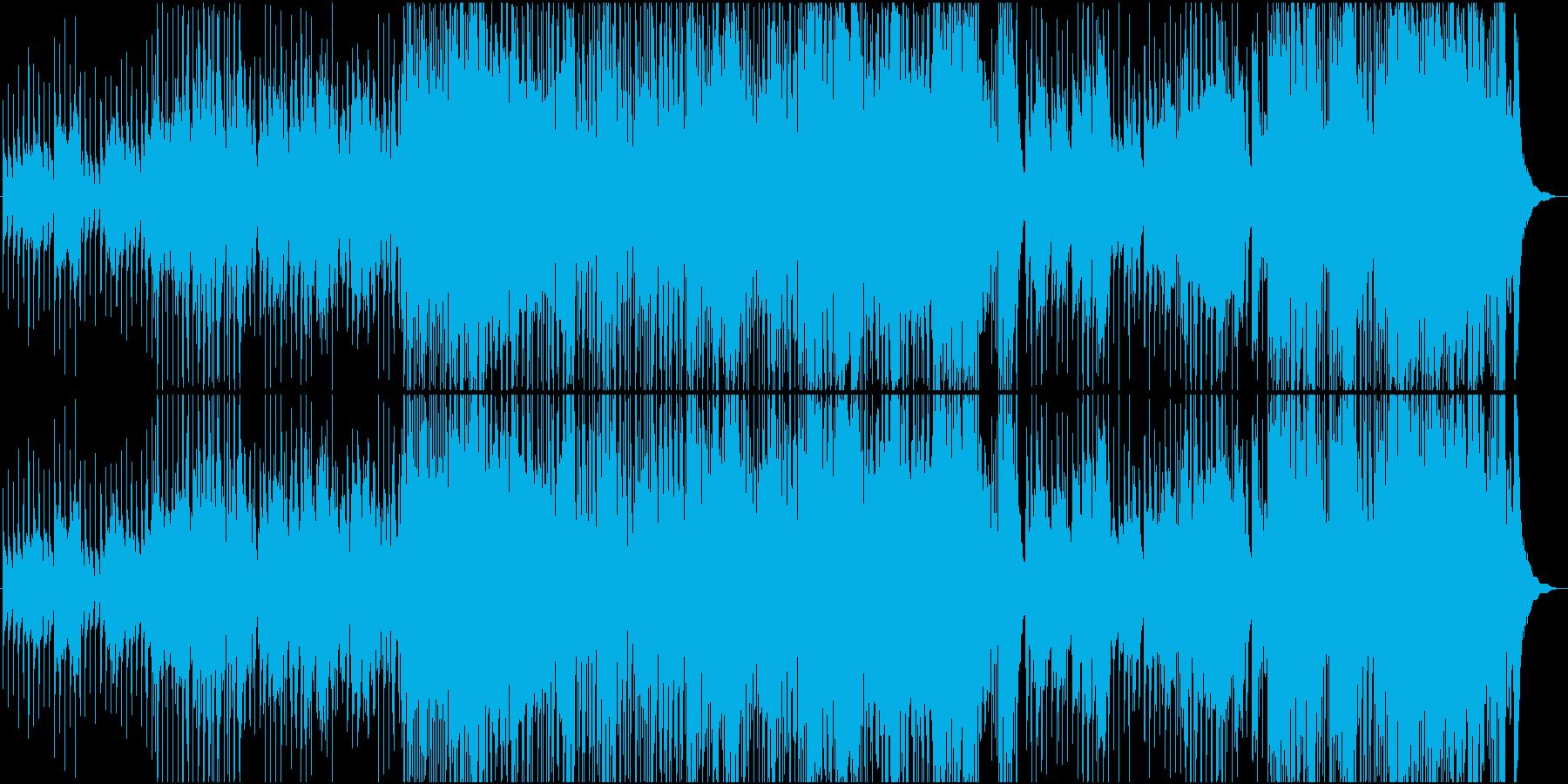 ブルース、スイング、ジャズ、即興演...の再生済みの波形