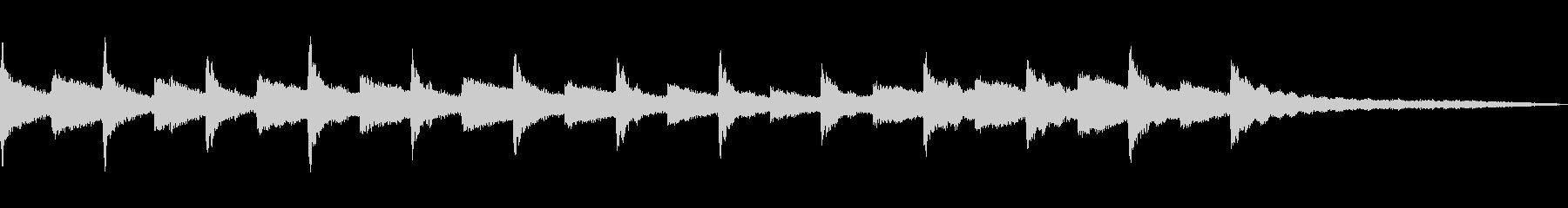 チャーチベルトーリング、B / G...の未再生の波形
