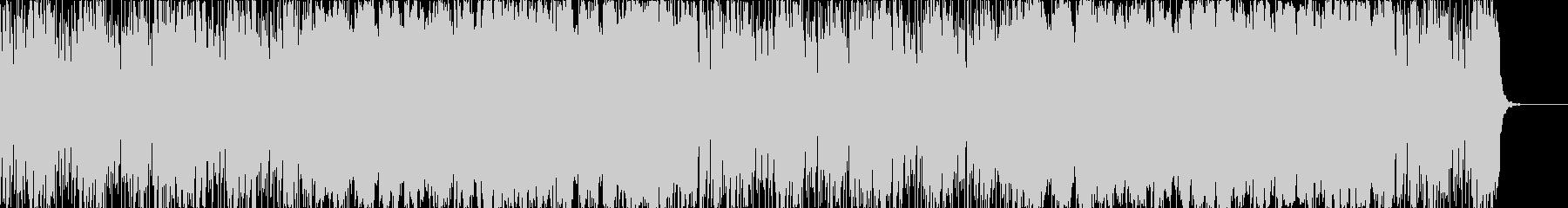 バトルシーン的なBGMの未再生の波形