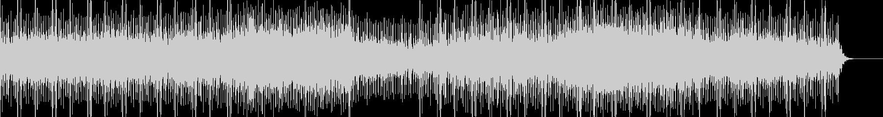 シンセ音が軽快なアップテンポの曲です。の未再生の波形