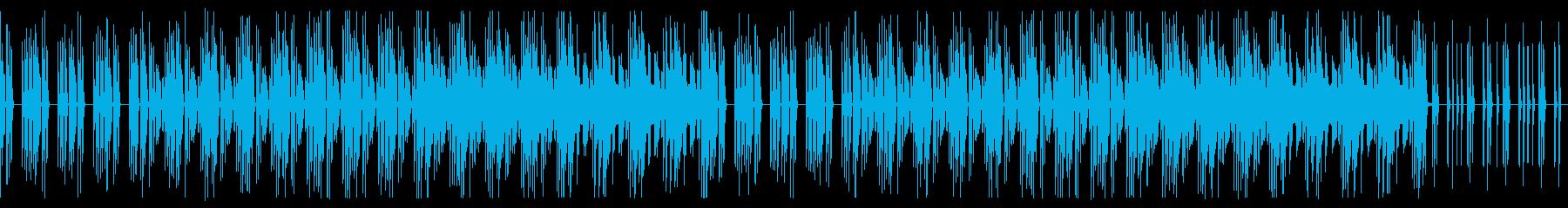 ゆっくり考える ピアノと木琴 ループ可!の再生済みの波形