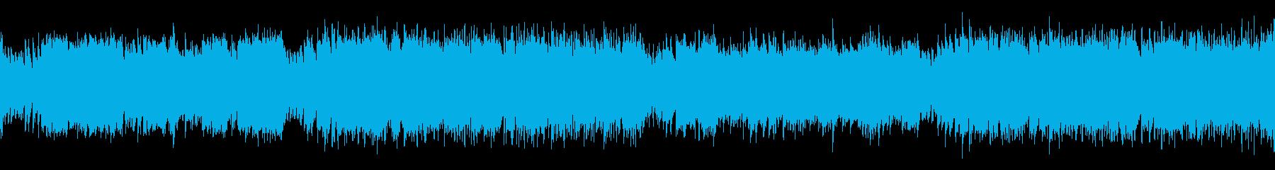 ループ・哀愁感漂うかっこいいフラメンコの再生済みの波形