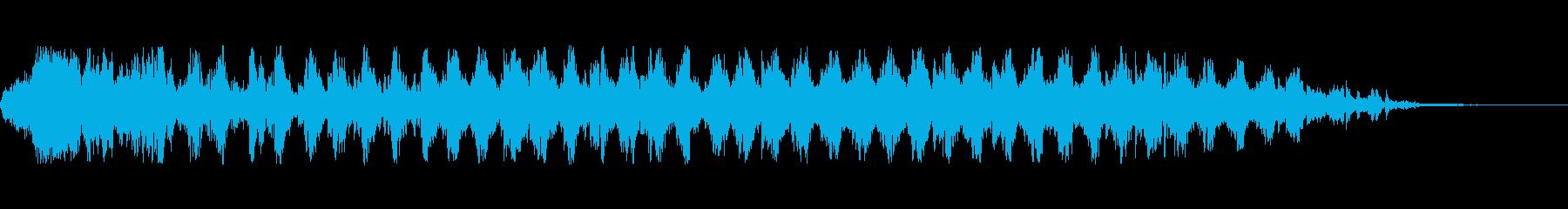 トリブル2でドラムを解散の再生済みの波形