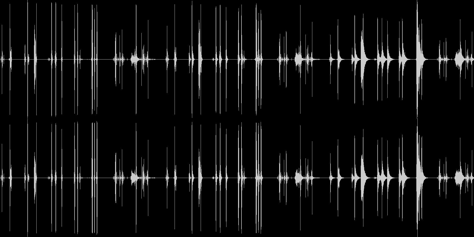 キー、5バージョンX 3ルームで開...の未再生の波形