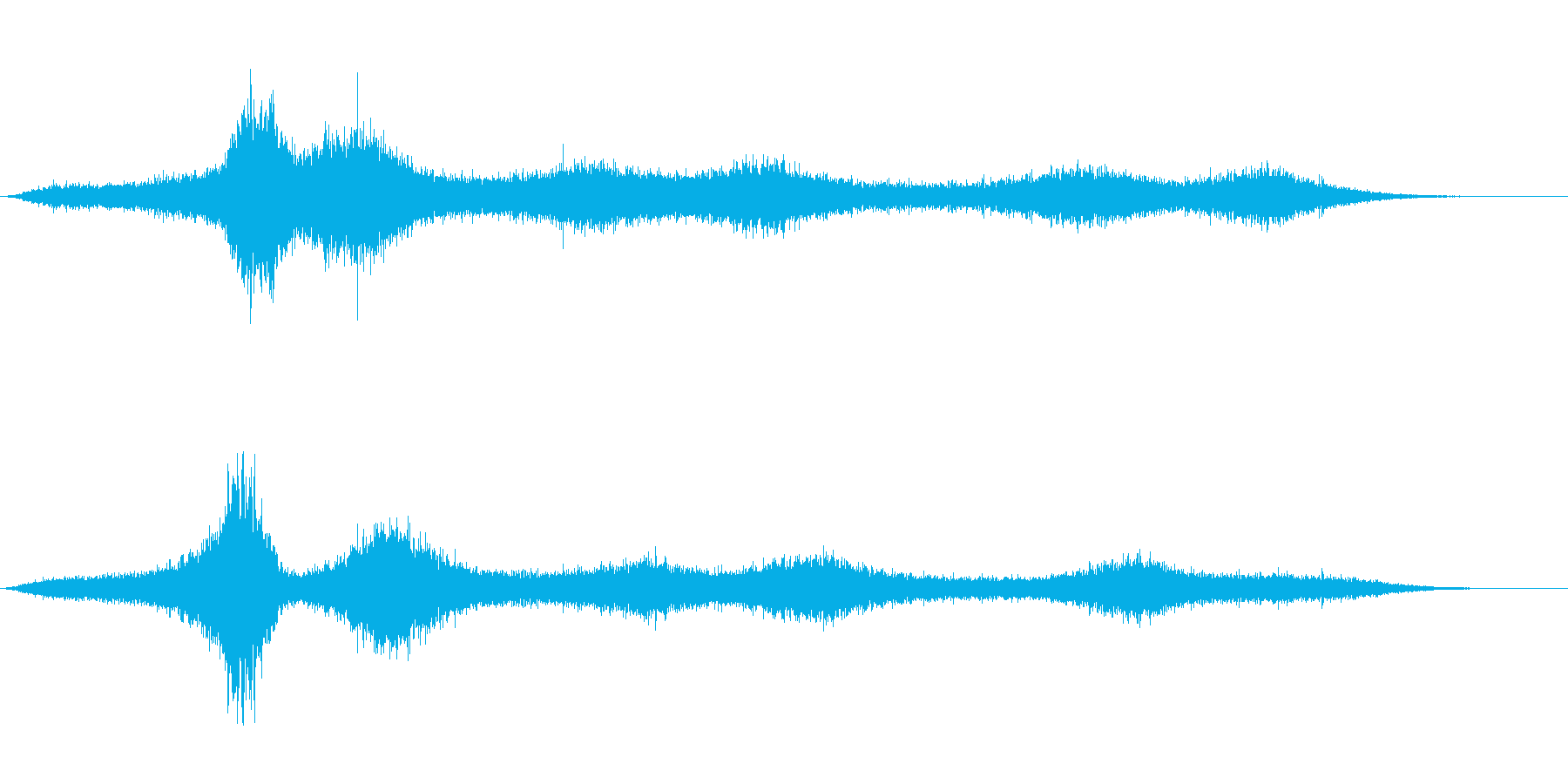 【生録音】 早朝の街 交通 環境音 15の再生済みの波形