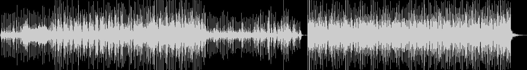 ダンディズムな口笛ダンス ハウス調の未再生の波形