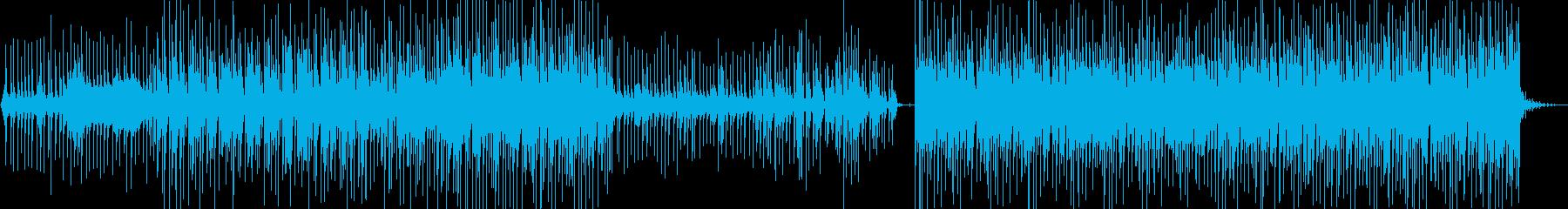 ダンディズムな口笛ダンス ハウス調の再生済みの波形